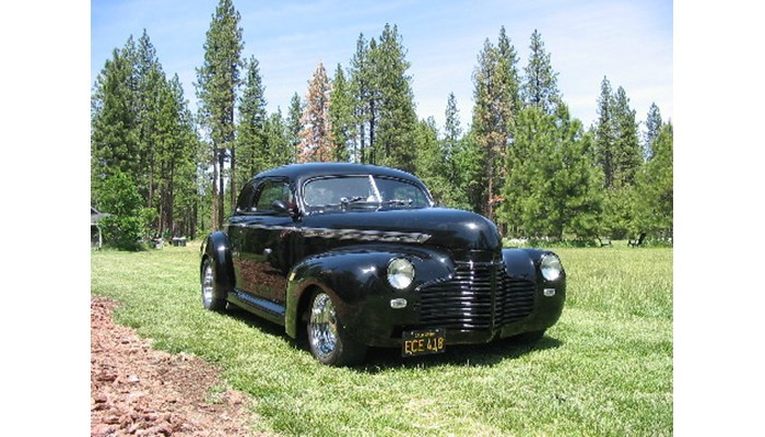 1941 Chevy Coupe Street Rod Engineering